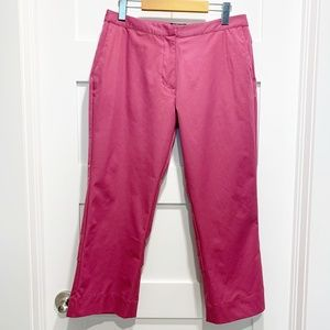Adidas Pink Stretch Clima Cool Vented Crop Pants